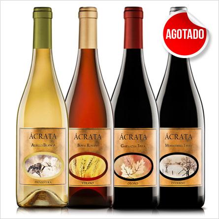 Botellas Packs Ácrata