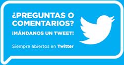 Pregunta en Twitter